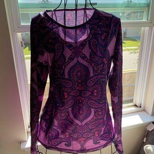 Bnwt Athleta  Sierra Nevada shirt size medium